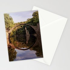 Mystical stone arch Stationery Cards