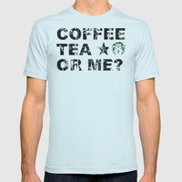 Gingerbucks or me? Mens Fitted Tee Light Blue SMALL