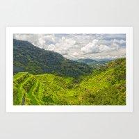 Banaue Rice Terraces Phi… Art Print