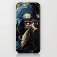 iPhone Cases featuring Nausicaa of the Valley of the Wind by Barrett Biggers