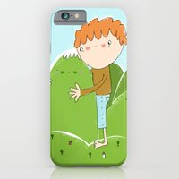 iPhone & iPod Case featuring do you need a hug? by Lori Joy Smith