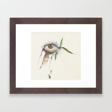 I wanna see You more clearly... Framed Art Print