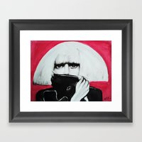 Mons†er Framed Art Print