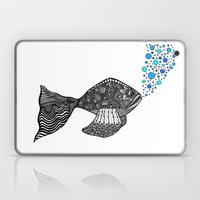 Blowing Bubbles Laptop & iPad Skin