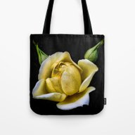 The Yellow Friendship R… Tote Bag