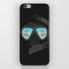 Underwater Attractions  iPhone & iPod Skin