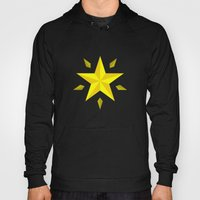 Gold Star/ Blue Hoody