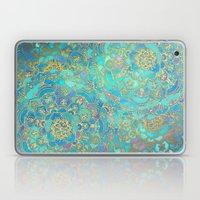 Sapphire & Jade Stained … Laptop & iPad Skin
