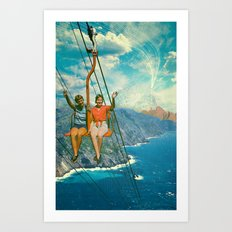 The Lift Art Print
