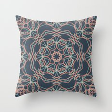 Dark Deco Throw Pillow