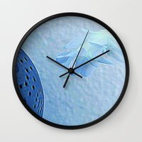 Blue For You Wall Clock