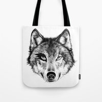 The Wolf Next Door Tote Bag