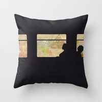 Travelling Without Movin… Throw Pillow
