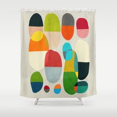 Jagged Little Pills Shower Curtain