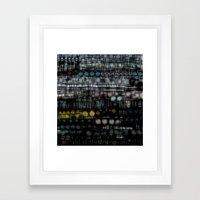 :: Sleep Study :: Framed Art Print