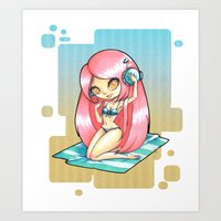 ROSTED CANELLA Art Print