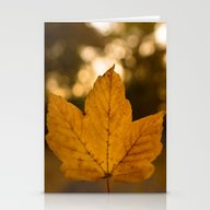 One Leaf - Autumn Stationery Cards