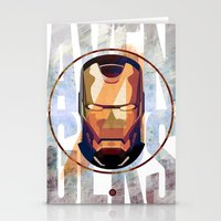 Avengers : IRON MAN print  Stationery Cards