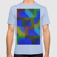 Colorful Truth. Blue. Mens Fitted Tee Athletic Blue SMALL