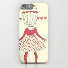 Cupcake girl iPhone 6 Slim Case