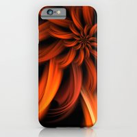 iPhone & iPod Case featuring The Red Dahlia by CreativeByDesign
