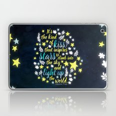 Shatter Me - Stars Quote… Laptop & iPad Skin