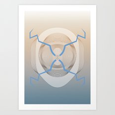Mass Hypnosis Art Print