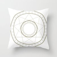 Anime Magic Circle 14 Throw Pillow