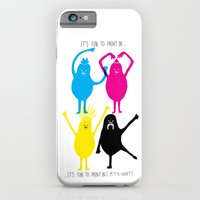 It's fun to print in CMYK iPhone 6 Slim Case