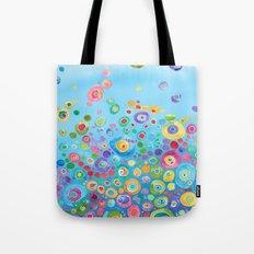 Inner Circle - Blue Tote Bag