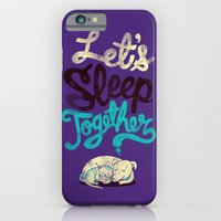 Let's Sleep Together iPhone 6 Slim Case