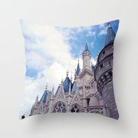 The wild blue yonder  Throw Pillow