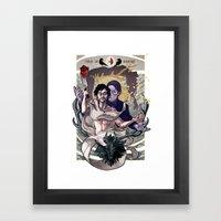 Designing Will Graham Framed Art Print