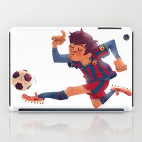 Lionel Messi, Barcelona Jersey iPad Case