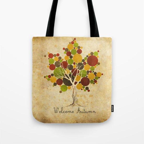 Leafy Tote Bag