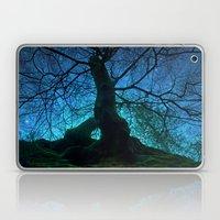 Tree under a spangled sky (light) Laptop & iPad Skin