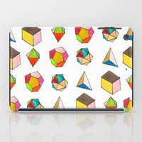 Platonic Solids iPad Case