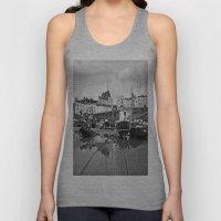 Tenby Harbour Boats.Pemb… Unisex Tank Top