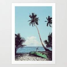 Nothing but time. Art Print