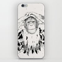 In the shadow of Man iPhone & iPod Skin