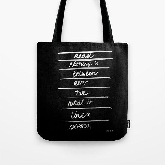 LINES /2/ Tote Bag