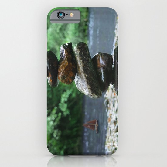 Silence on the river iPhone & iPod Case