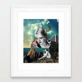 Framed Art Print - Oceans Apart - TRASH RIOT