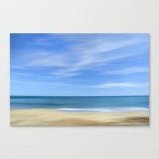 Blue sea...., blue sky. Sea dreams Canvas Print