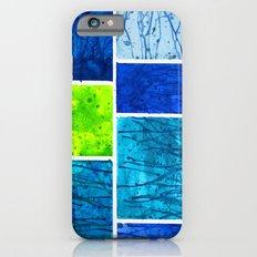 Blue Block Slim Case iPhone 6s