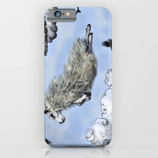 Flying sheep iPhone & iPod Case