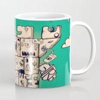 Man Castle Mug