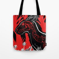 The Demon Sleeps Tote Bag