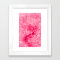 Fluff Framed Art Print