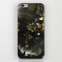 Black And Gold II iPhone & iPod Skin